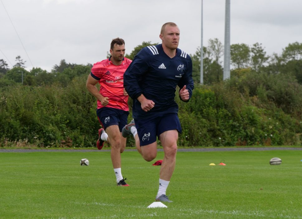 Tadhg Beirne and Keith Earls will join team training later this month.