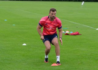 Tadhg Beirne has returned to training following an ankle injury.