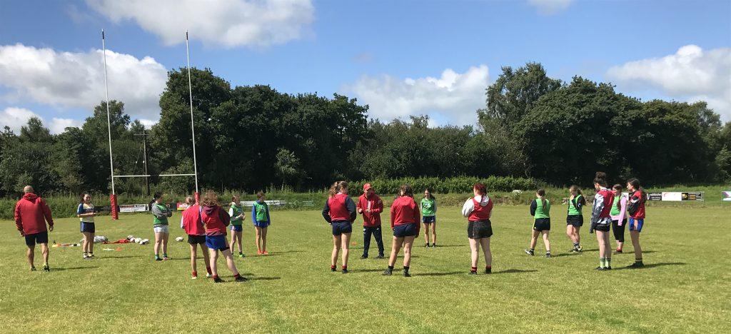 Killarney RFC Under 14 and 16 Girls.