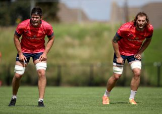 Billy Holland and RG Snyman start in the second row as Snyman makes his Munster debut.