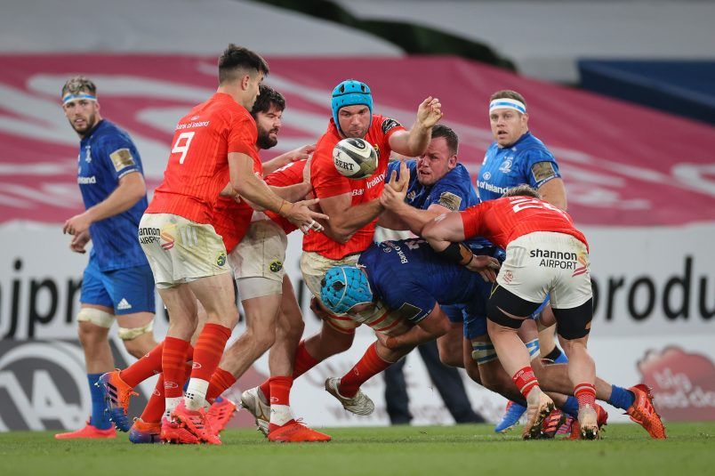 A view of the action from the Guinness PRO14 semi-final.