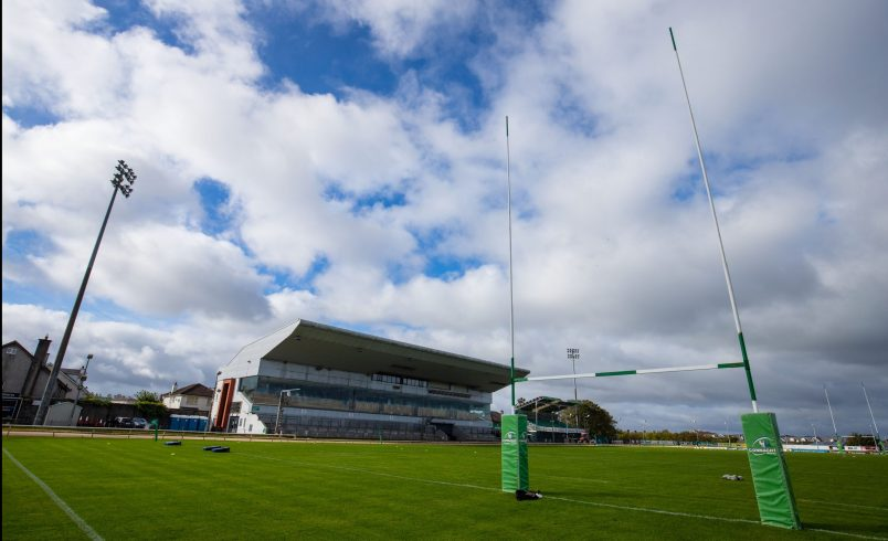 There is a 2pm kick-off at the Sportsground.