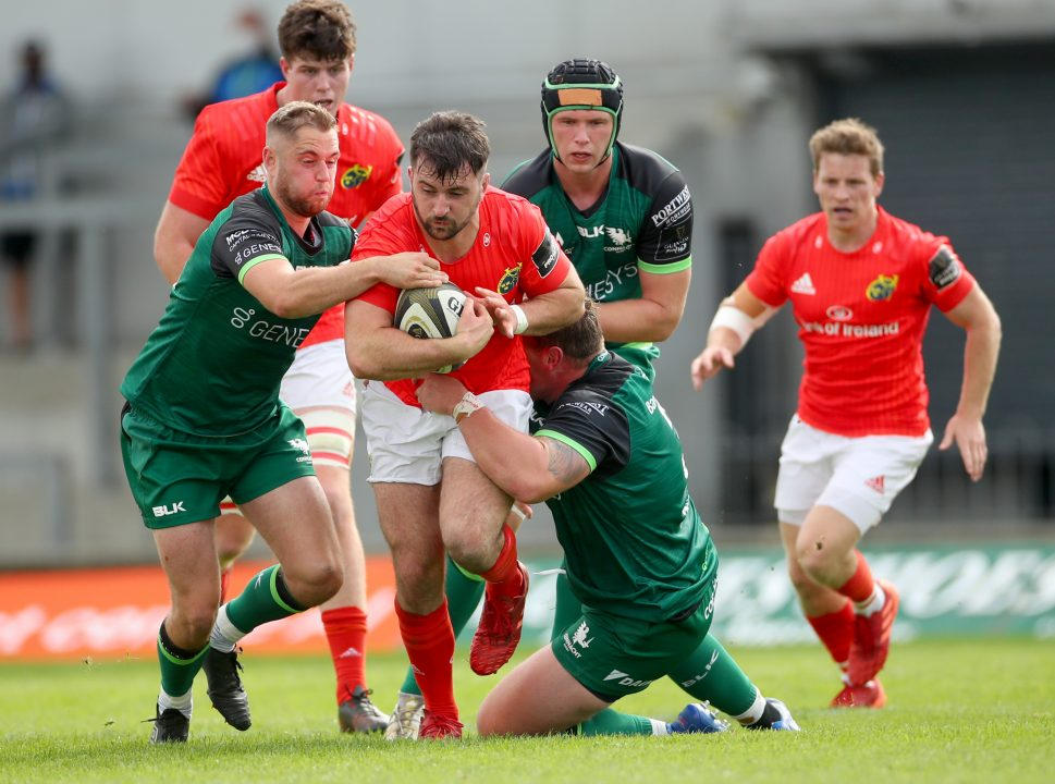 Diarmuid Barron captained Munster A to a 22-19 victory over Connacht A last weekend.