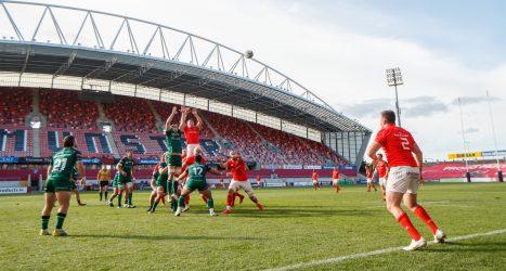 Munster A vs Connacht Eagles at Thomond Park.