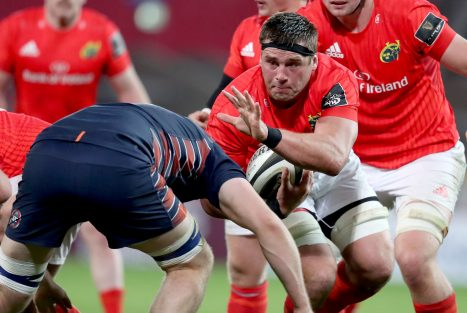 CJ Stander was the try-scorer for Munster.