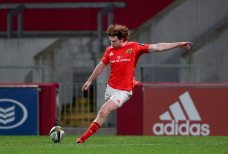 Ben Healy kicked 20 of Munster