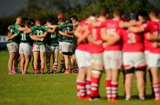 Irish Rugby Community Series Suspended