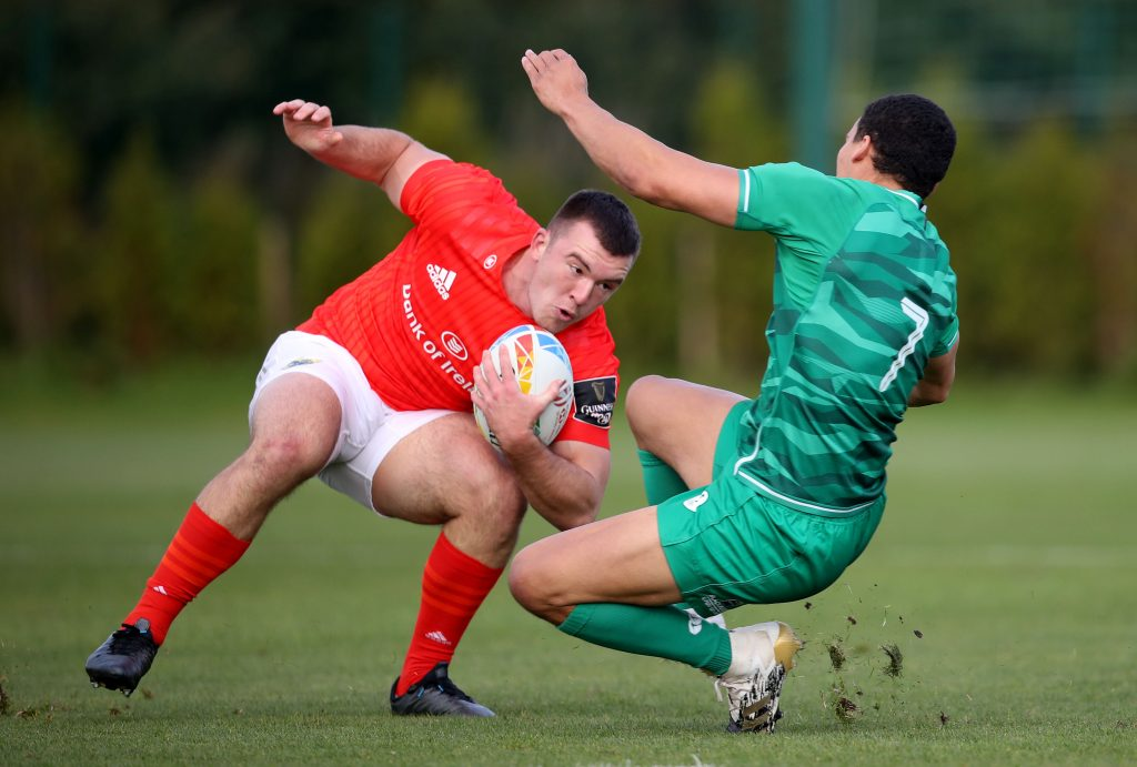 Matt Gallagherin action for the Munster 7s.