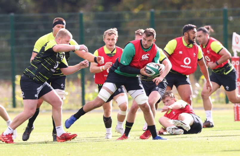 Tadhg Beirne starts for Ireland against Italy.