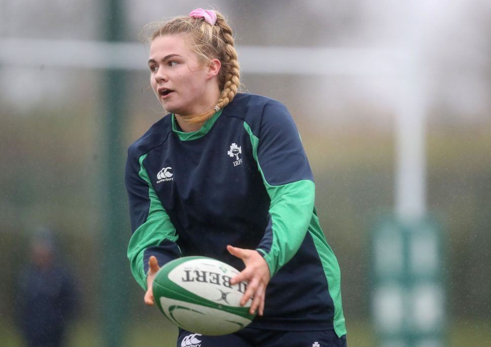 Dorothy Wall makes her first start for Ireland.