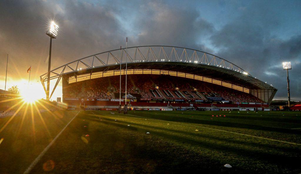 Thomond Park hosts Munster v Cardiff Blues.