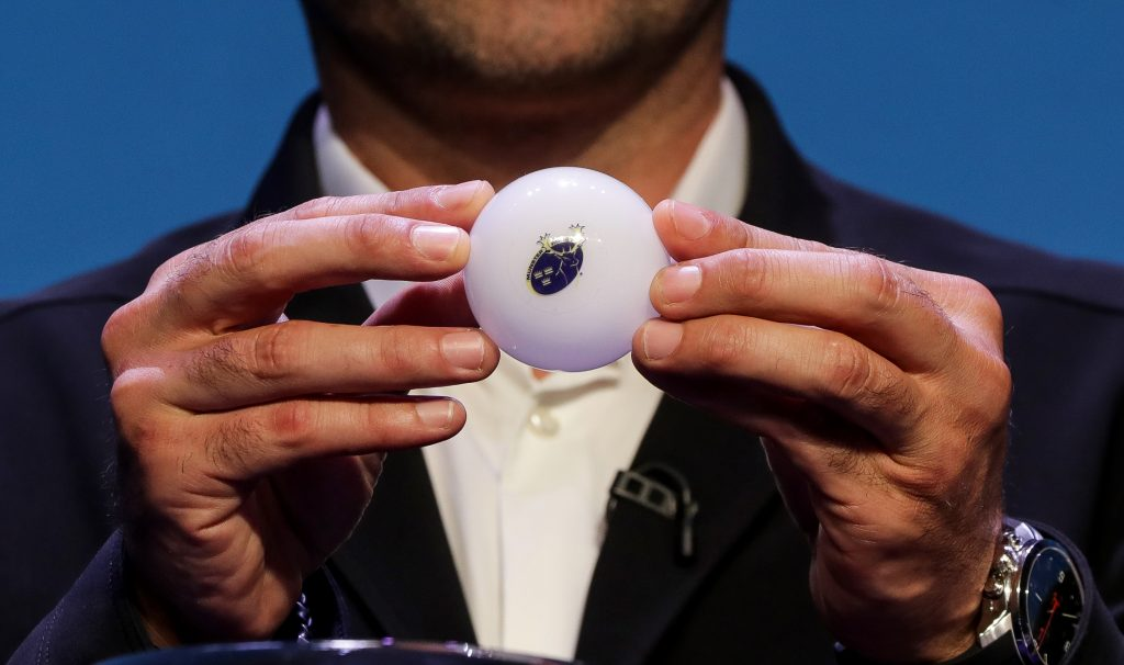 The Champions Cup draw takes place in Switzerland.