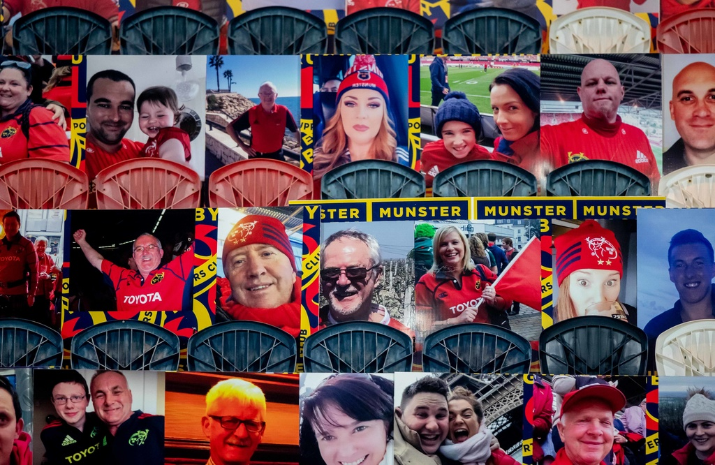 The 'Be There' initiative has been strongly supported by Munster fans.