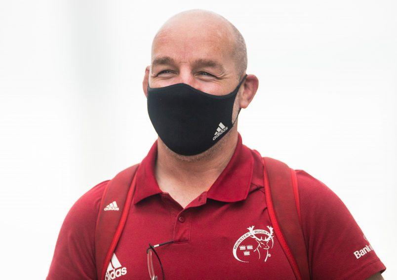 Munster A Head Coach Peter Malone.