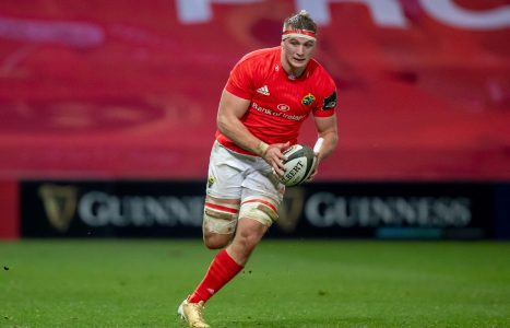 Gavin Coombes starts on his Champions Cup debut.