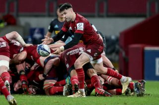 Conor Murray in action against Harlequins.