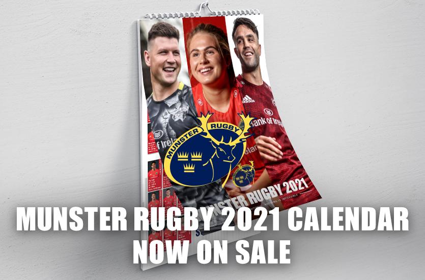 Munster Rugby 2021 Calendar