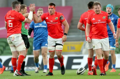 Munster face Leinster on Saturday night.