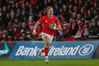 Mike Haley will make his 50th appearance for Munster on Saturday night.