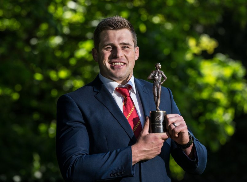 Stander Scoops Award For Second Successive Year