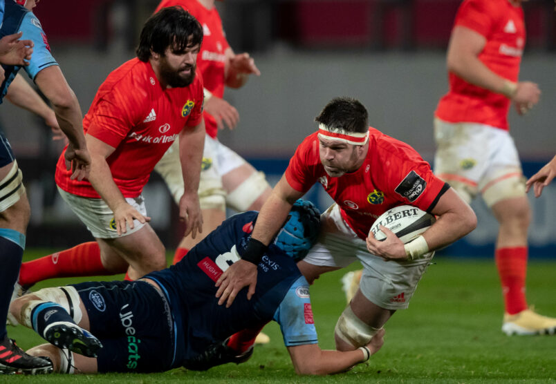 Munster face Cardiff Blues on Friday night.