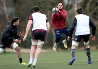 Joey Carbery at Tuesday