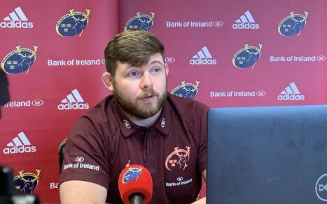 Munster prop Liam O