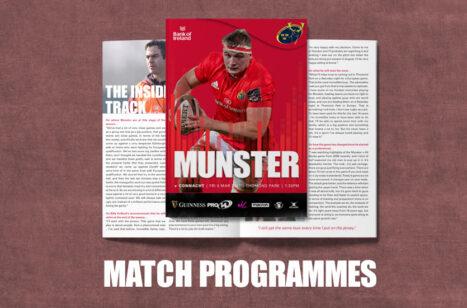 Match Programme Connacht