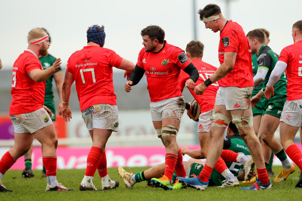Munster A face Connacht A on Saturday at noon.