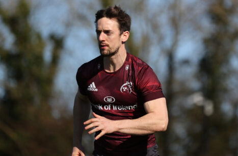 Darren Sweetnam was a try-scorer when Munster beat Benetton in January.