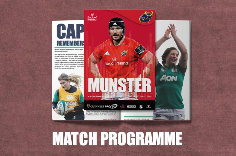 Match Programme Benetton