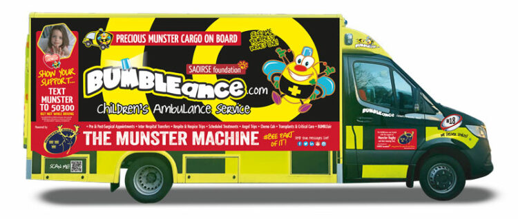 Munster Machine BUMBLEance