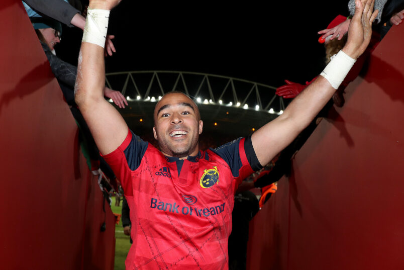Simon Zebo is returning to Munster Rugby.