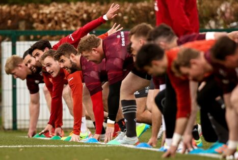 Gallery | Munster Prepare For Leinster Clash