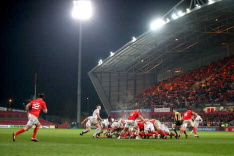 This week - Munster host Ulster at Thomond Park on Friday night.