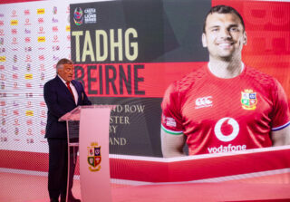 Tadhg Beirne has been selected to tour South Africa with the Lions this summer.