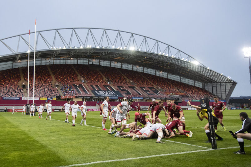 Munster face Connacht at Thomond Park on Friday at 6pm.