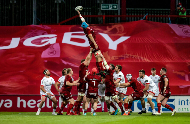 Munster lead the Rainbow Cup North after two rounds.