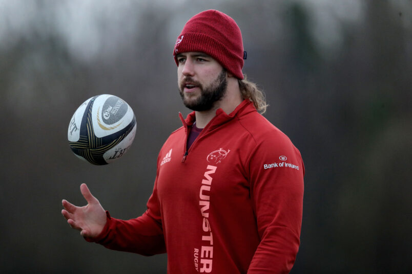 Rhys Marshall is set to depart Munster