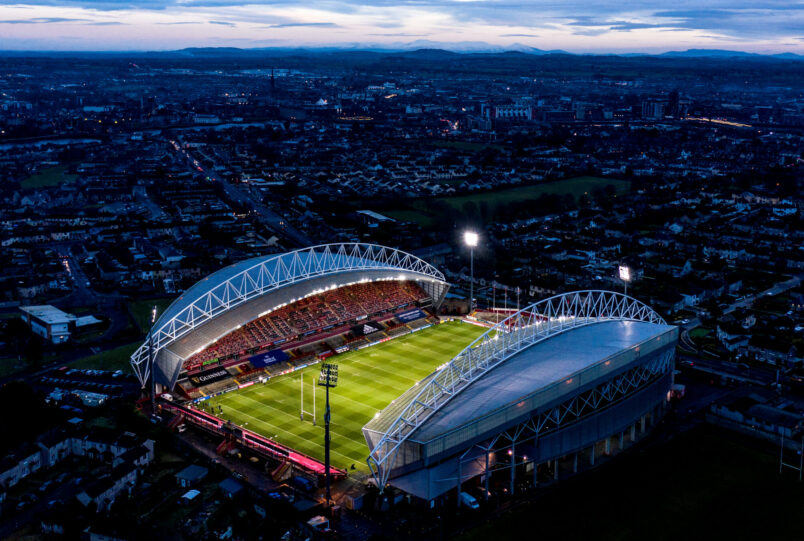 A training session at Thomond Park is among the items up for grabs in the Silent Auction for the Virtual Event.