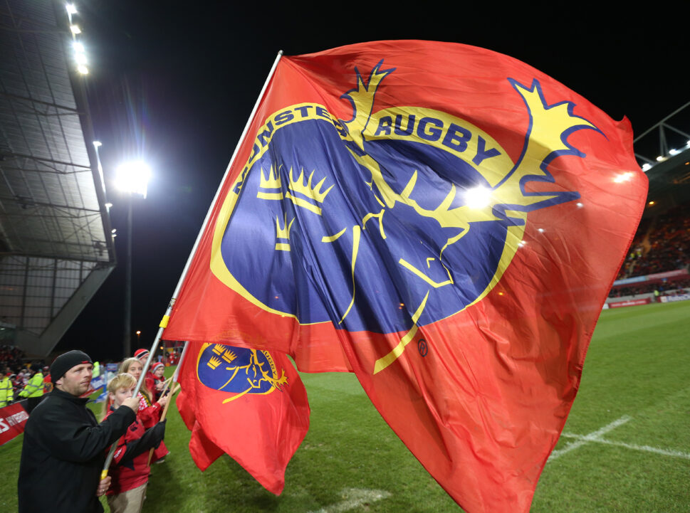 Munster supporters at Thomond Park.