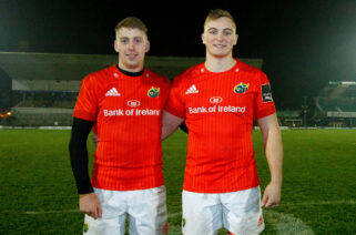 Skibbereen cousins Liam Coombes and Gavin Coombes start together for the third time.