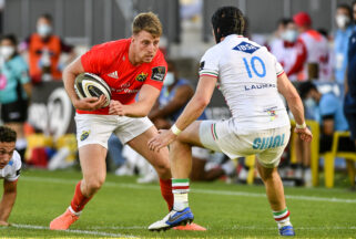 Liam Coombes scored one of Munster