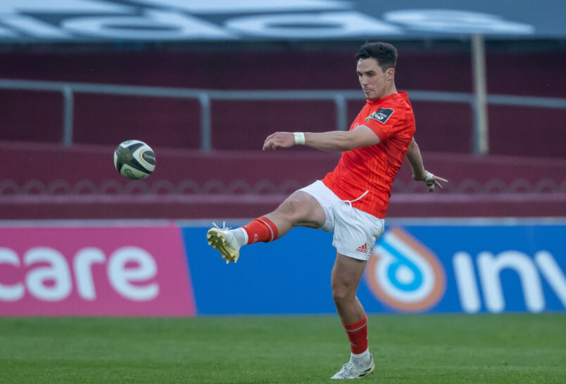 Joey Carbery is one of 10 Munster players selected in the Ireland squad.