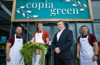 Master Chefs CEO Pat O'Sullivan with Munster Rugby