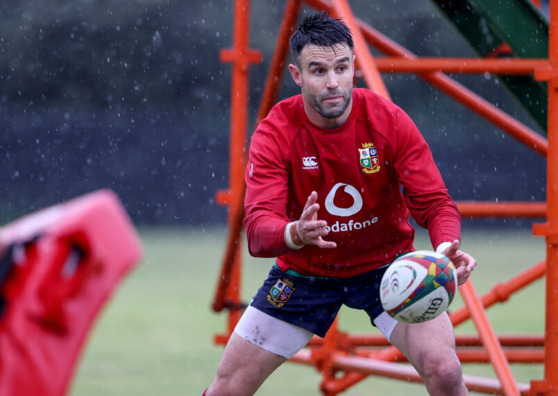 Conor Murray captains the Lions on Wednesday.