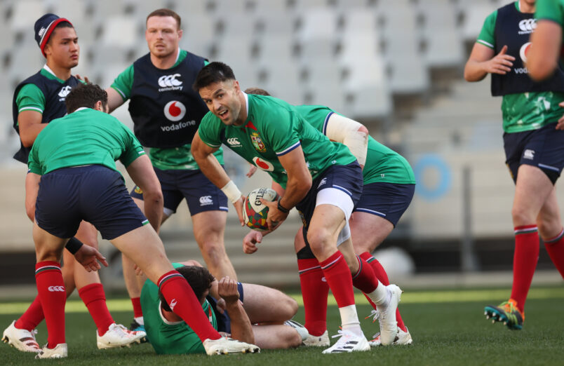 Conor Murray is among the Lions replacements.
