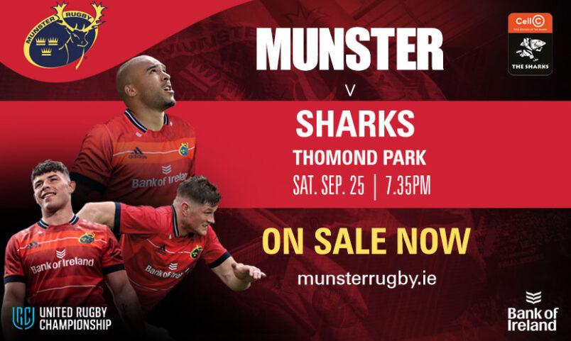 Tickets On Sale | Munster v Sharks At Thomond Park