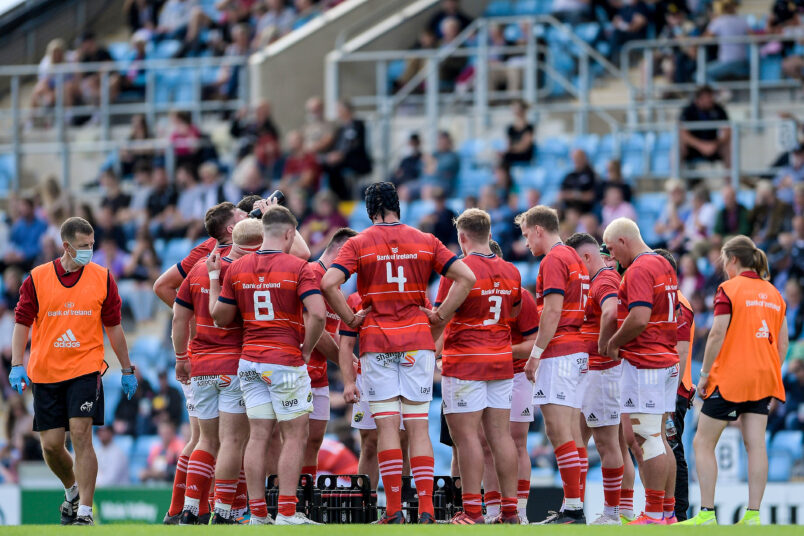 Munster start the new season with the return of supporters as Cell C Sharks visit Thomond Park on Saturday week.
