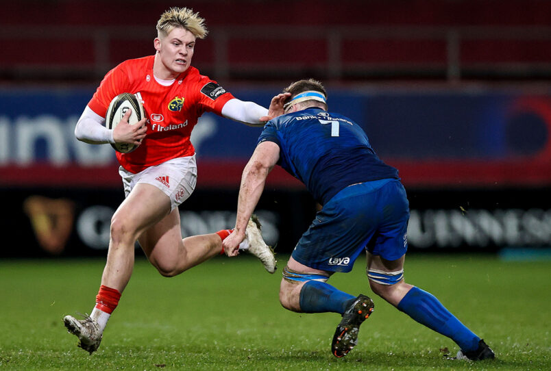Alan Flannery starts at outside centre for Munster.